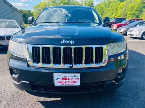 2012 Jeep Grand Cherokee for sale at MBL Auto Woodford in Woodford VA