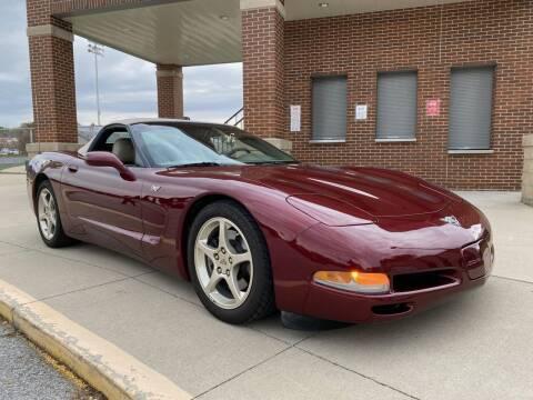 2003 Chevrolet Corvette for sale at Klemme Klassic Kars in Davenport IA