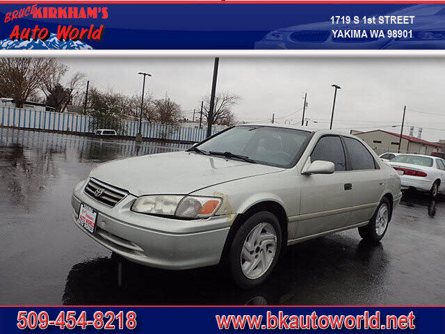 2000 Toyota Camry for sale at Bruce Kirkham Auto World in Yakima WA