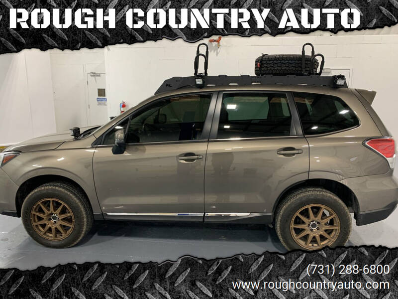 2018 Subaru Forester for sale at ROUGH COUNTRY AUTO in Dyersburg TN