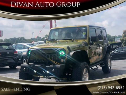 2007 Jeep Wrangler Unlimited for sale at Divan Auto Group in Feasterville PA