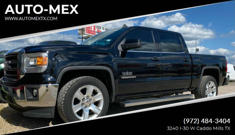 2014 GMC Sierra 1500 for sale at AUTO-MEX in Caddo Mills TX