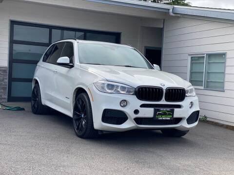2015 BMW X5 for sale at Lux Motors in Tacoma WA