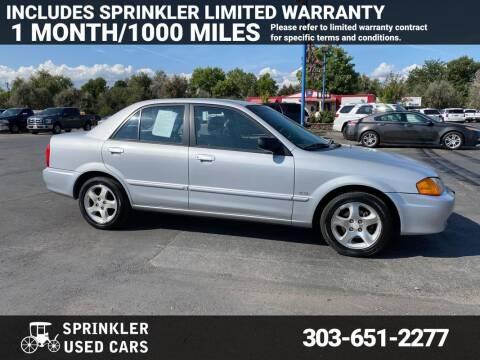 2000 Mazda Protege for sale at Sprinkler Used Cars in Longmont CO