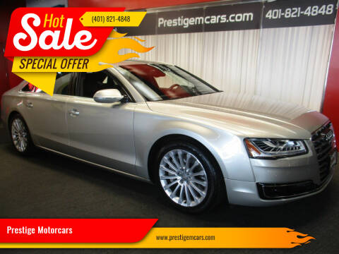2015 Audi A8 L for sale at Prestige Motorcars in Warwick RI