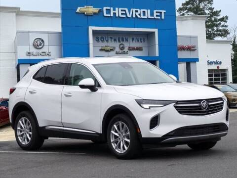 2021 Buick Envision for sale at PHIL SMITH AUTOMOTIVE GROUP - SOUTHERN PINES GM in Southern Pines NC