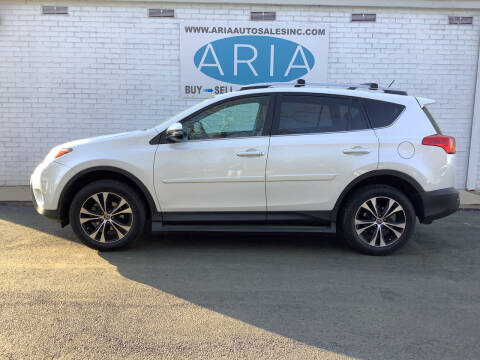 2015 Toyota RAV4 for sale at ARIA  AUTO  SALES in Raleigh NC