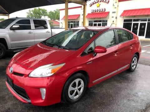 2012 Toyota Prius for sale at Gold Star Motors Inc. in San Antonio TX