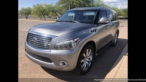 2011 Infiniti QX56 for sale at Noble Motors in Tucson AZ