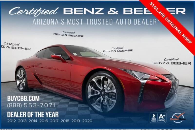 2019 Lexus LC 500 for sale in Scottsdale, AZ