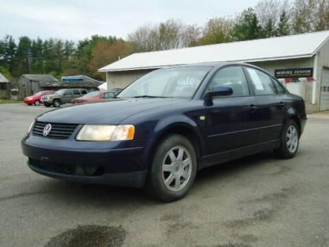 1999 Volkswagen Passat for sale at PB'S Auto Village in Hampton Falls NH