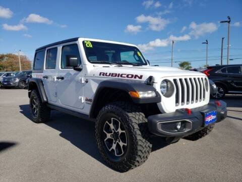 2020 Jeep Wrangler Unlimited for sale at All Star Mitsubishi in Corpus Christi TX