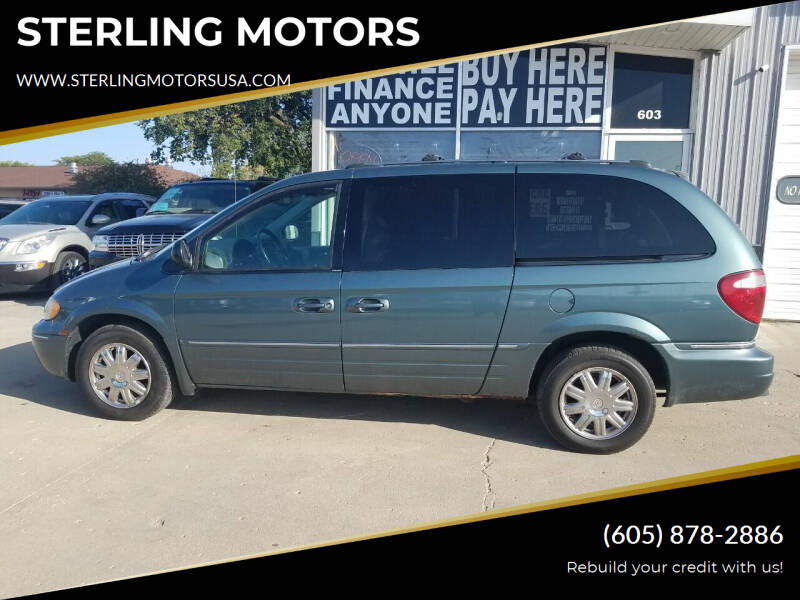 2005 Chrysler Town and Country for sale at STERLING MOTORS in Watertown SD