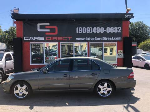 2006 Lexus LS 430 for sale at Cars Direct in Ontario CA