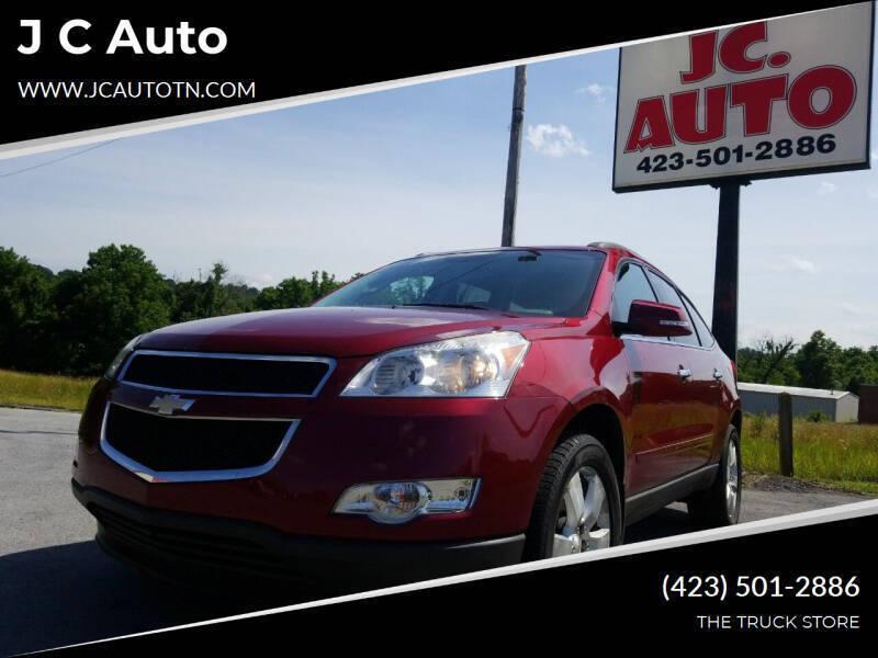 2011 Chevrolet Traverse for sale at J C Auto in Johnson City TN