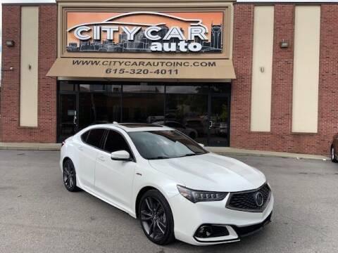 2019 Acura TLX for sale at CITY CAR AUTO INC in Nashville TN