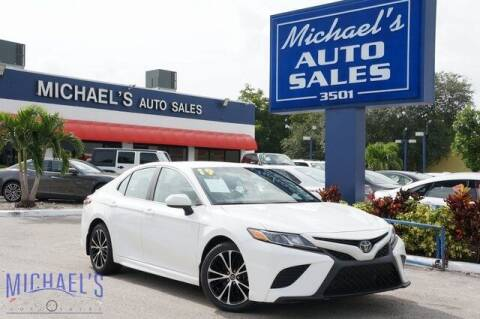 2019 Toyota Camry for sale at Michael's Auto Sales Corp in Hollywood FL