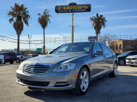 2013 Mercedes-Benz S-Class for sale at A MOTORS SALES AND FINANCE - 6226 San Pedro Lot in San Antonio TX