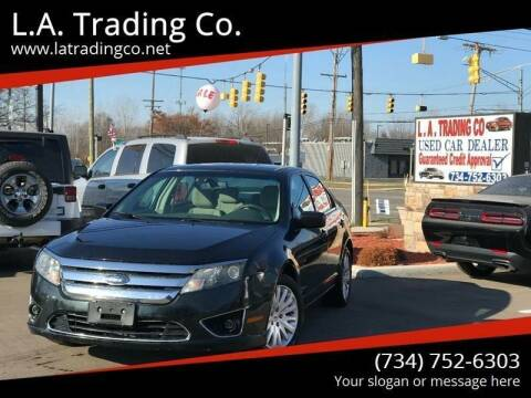 2010 Ford Fusion Hybrid for sale at L.A. Trading Co. in Woodhaven MI