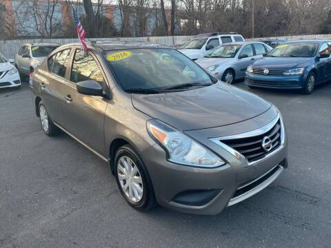 2016 Nissan Versa for sale at Auto Revolution in Charlotte NC