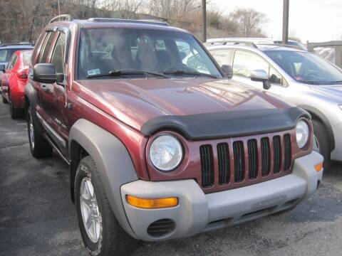 2002 Jeep Liberty for sale at Zinks Automotive Sales and Service - Zinks Auto Sales and Service in Cranston RI