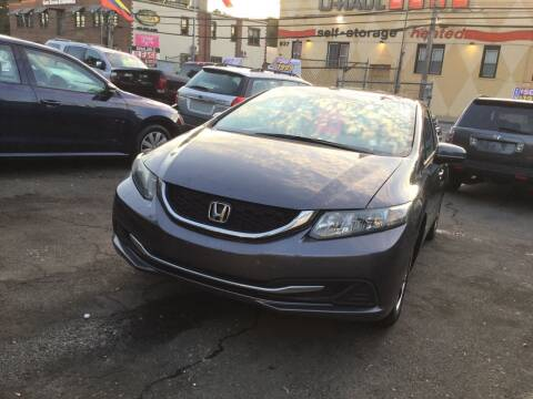2015 Honda Civic for sale at Drive Deleon in Yonkers NY