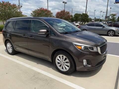 2015 Kia Sedona for sale at JOE BULLARD USED CARS in Mobile AL