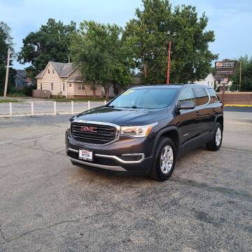 2017 GMC Acadia for sale at Bibian Brothers Auto Sales & Service in Joliet IL