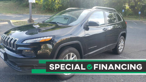 2015 Jeep Cherokee for sale at JOANKA AUTO SALES in Newark NJ