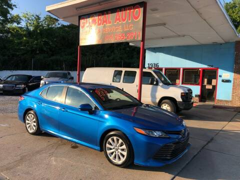 2019 Toyota Camry for sale at Global Auto Sales and Service in Nashville TN