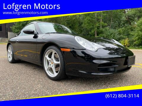 2003 Porsche 911 for sale at Lofgren Motors in Wayzata MN