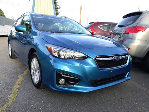 2018 Subaru Impreza for sale at Autos Cost Less LLC in Lakewood WA