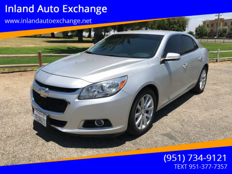 2014 Chevrolet Malibu for sale at Inland Auto Exchange in Norco CA