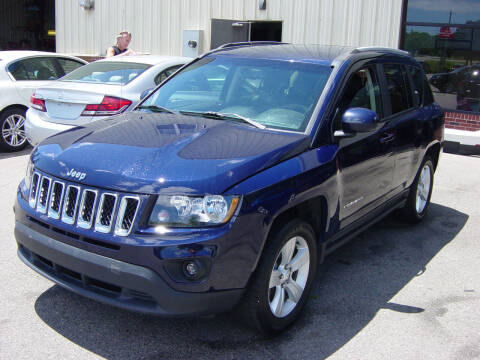 2017 Jeep Compass for sale at North South Motorcars in Seabrook NH