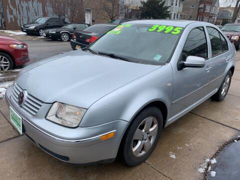 2005 Volkswagen Jetta for sale at Barnes Auto Group in Chicago IL