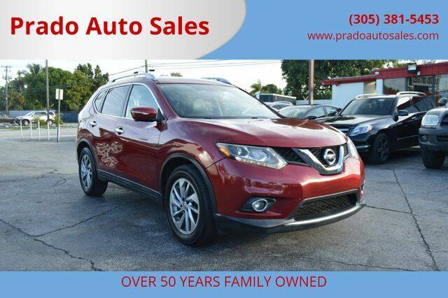 2015 Nissan Rogue for sale at Prado Auto Sales in Miami FL