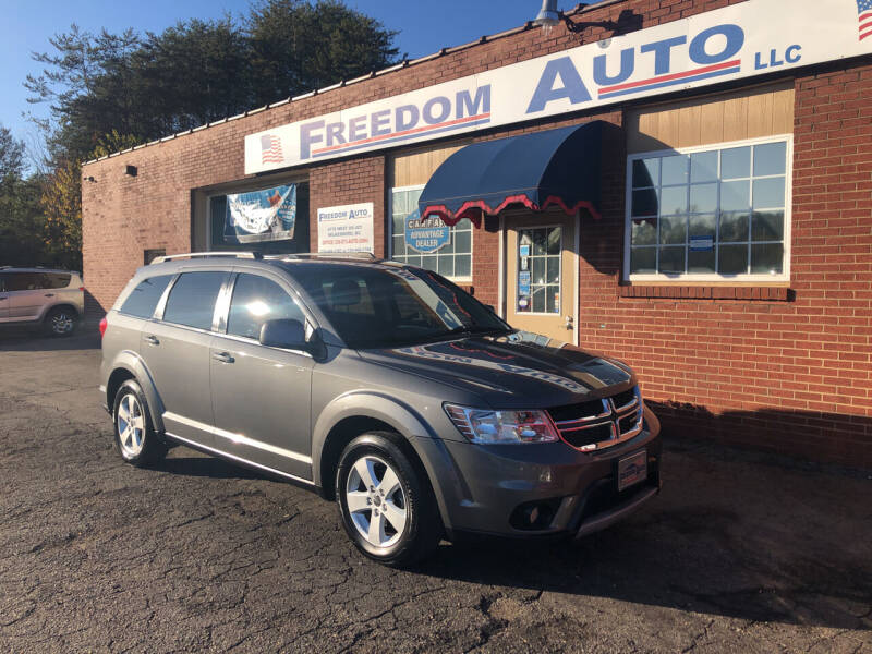 2012 Dodge Journey for sale at FREEDOM AUTO LLC in Wilkesboro NC
