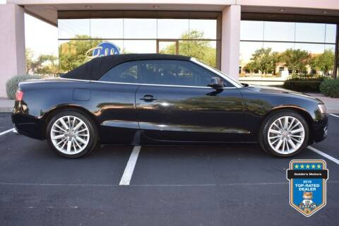 2012 Audi A5 for sale at GOLDIES MOTORS in Phoenix AZ