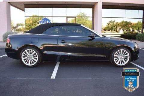 2012 Audi A5 for sale at GOLDIES MOTORS in Phoenix AZ