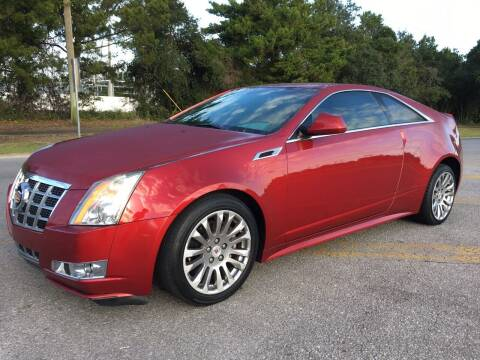 2014 Cadillac CTS for sale at Gulf Financial Solutions Inc DBA GFS Autos in Panama City Beach FL