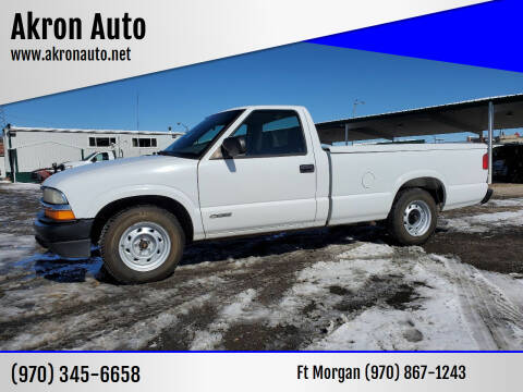 2000 Chevrolet S-10 for sale at Akron Auto in Akron CO