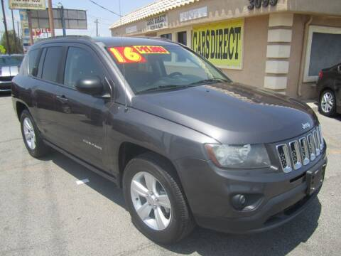 2016 Jeep Compass for sale at Cars Direct USA in Las Vegas NV