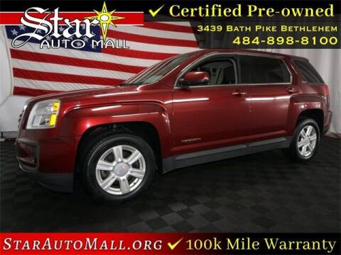 2016 GMC Terrain for sale at STAR AUTO MALL 512 in Bethlehem PA
