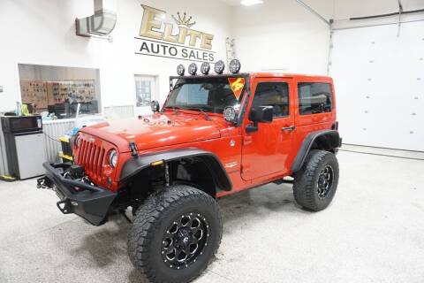 2014 Jeep Wrangler for sale at Elite Auto Sales in Ammon ID