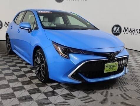 2019 Toyota Corolla Hatchback for sale at Markley Motors in Fort Collins CO