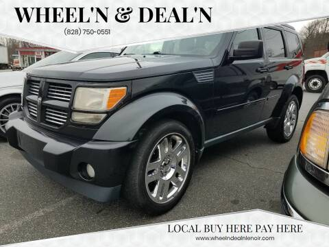2011 Dodge Nitro for sale at Wheel'n & Deal'n in Lenoir NC