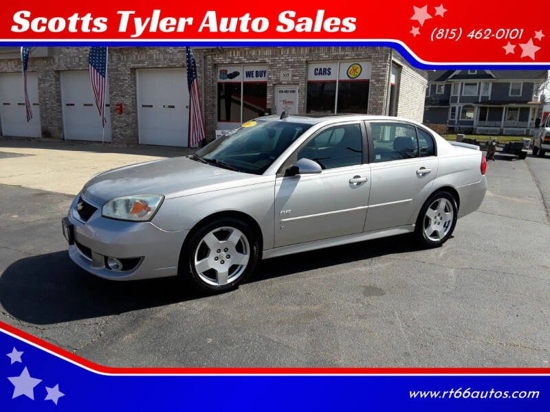 2007 Chevrolet Malibu for sale at Scotts Tyler Auto Sales in Wilmington IL