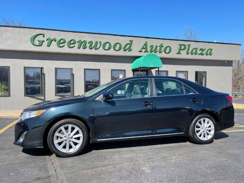 2012 Toyota Camry for sale at Greenwood Auto Plaza in Greenwood MO