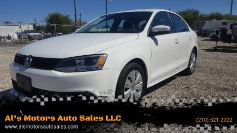 2011 Volkswagen Jetta for sale at Al's Motors Auto Sales LLC in San Antonio TX