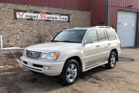 2006 Lexus LX 470 for sale at Vogel Sales Inc in Commerce City CO